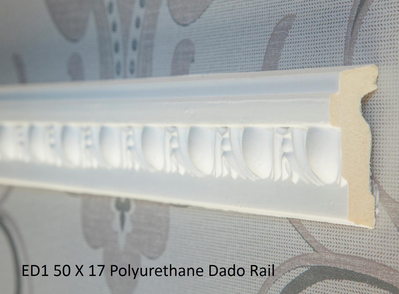 ED1 50 X 17 Polyurethane Dado Rail