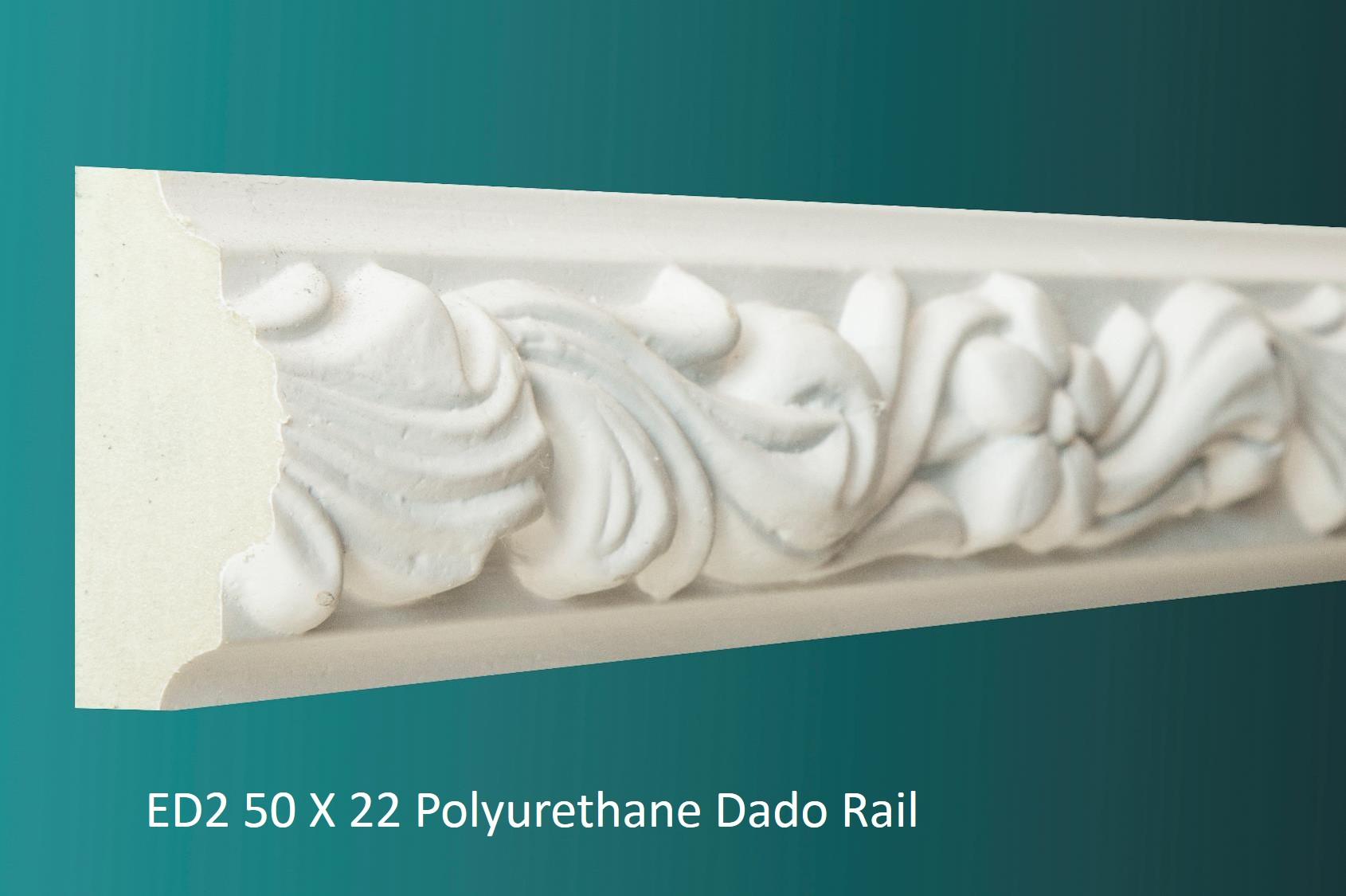 ED2 50 X 22 Polyurethane Dado Rail