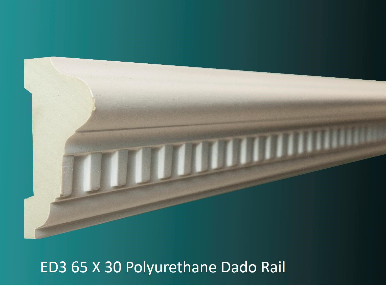 ED3 65 X 30 Polyurethane Dado Rail