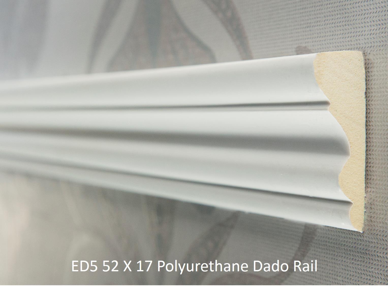 ED5 52 X 17 Polyurethane Dado Rail