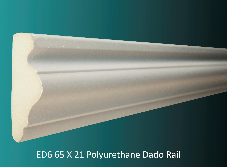 ED6 65 X 21 Polyurethane Dado Rail