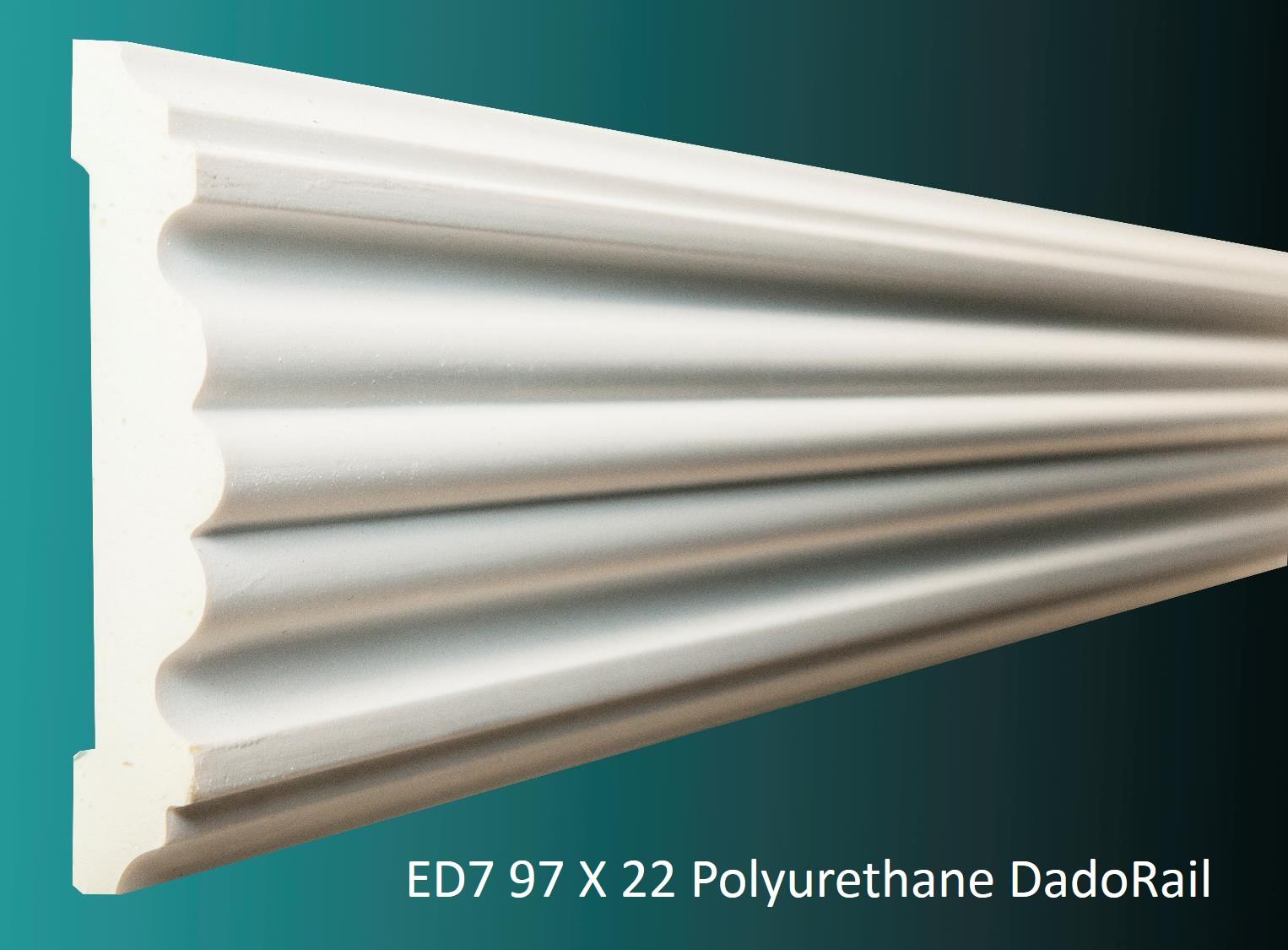 ED7 97 X 22 Polyurethane DadoRail
