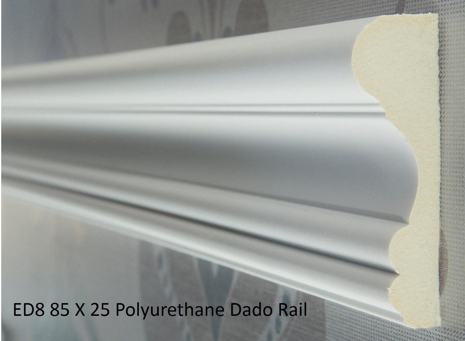 ED8 85 X 25 Polyurethane Dado Rail