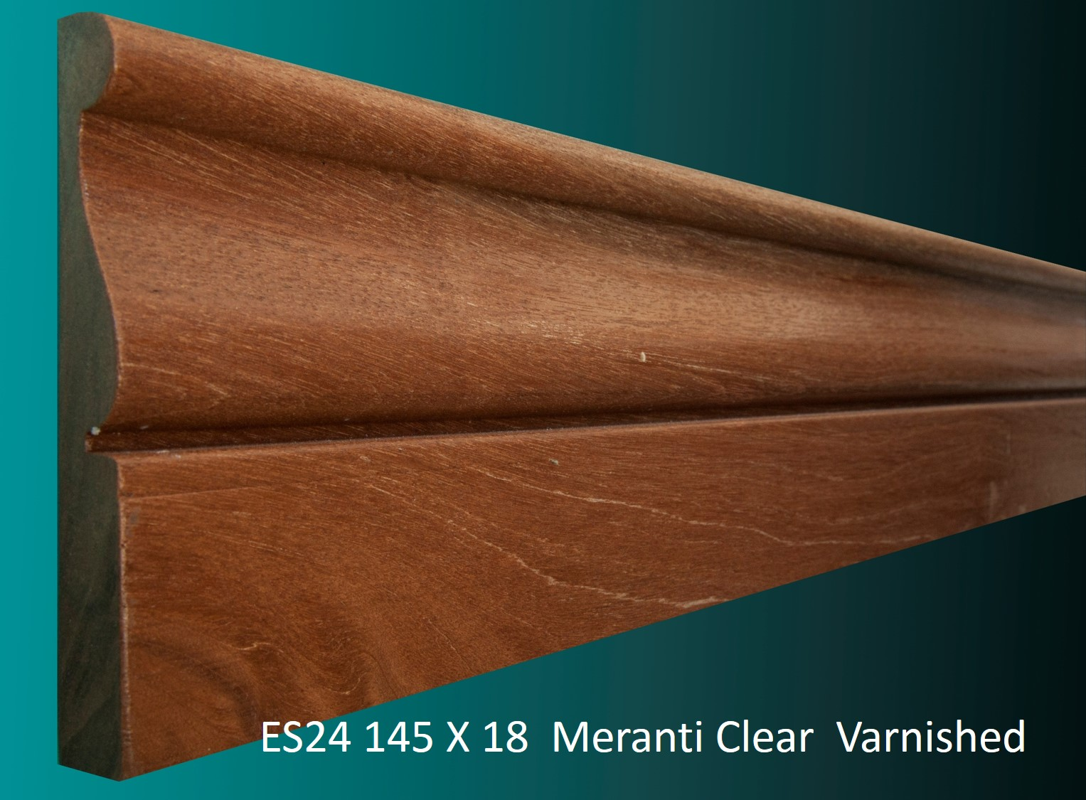 ES24 145 X 18 Meranti Clear Varnished