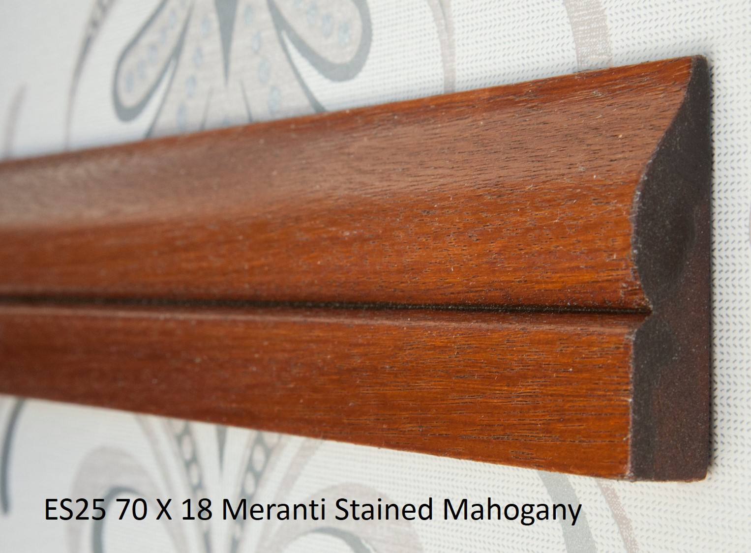 ES25 70 X 18 Meranti Stained Mahogany