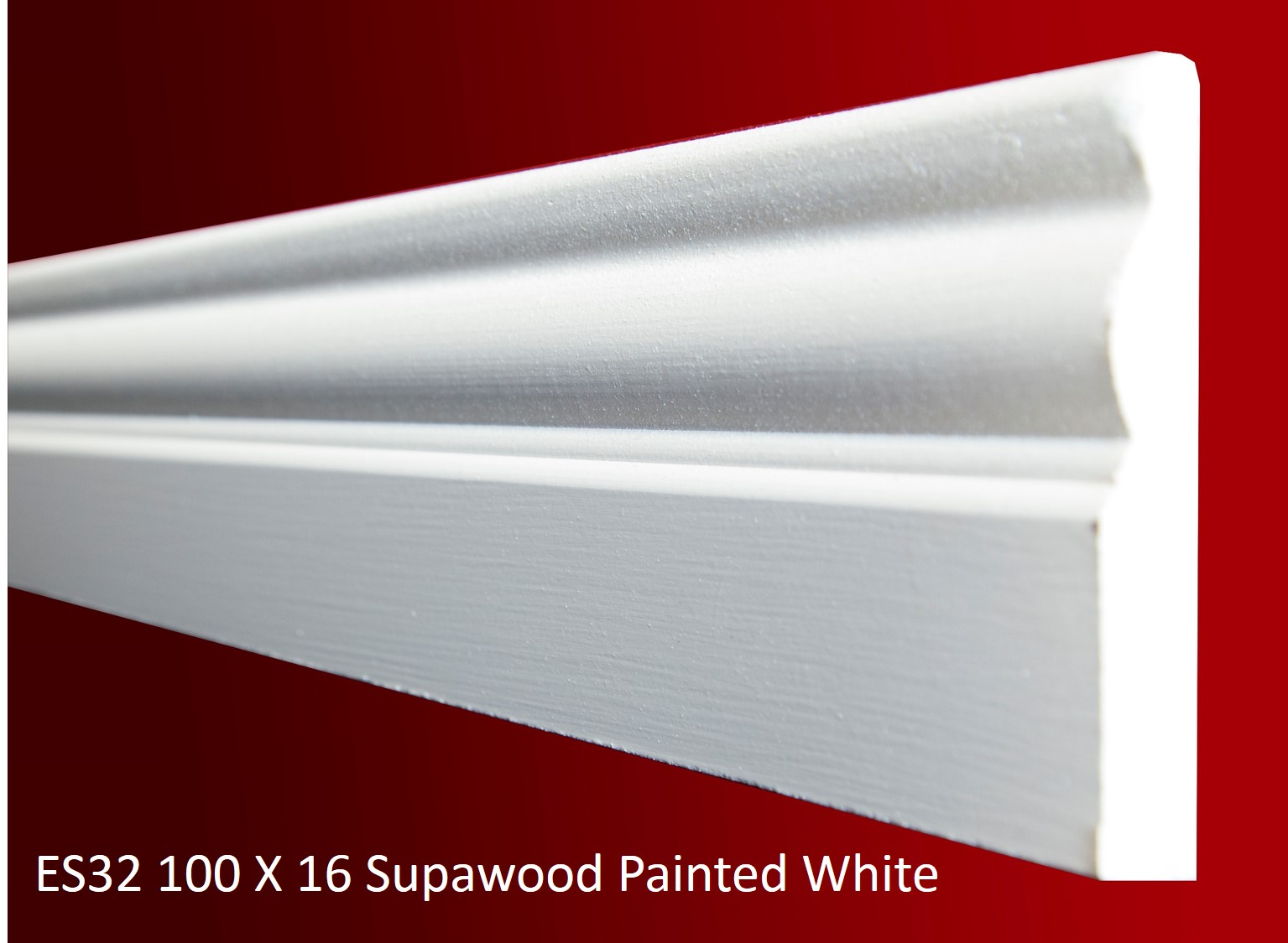 ES32 100 X 16 Supawood Painted White