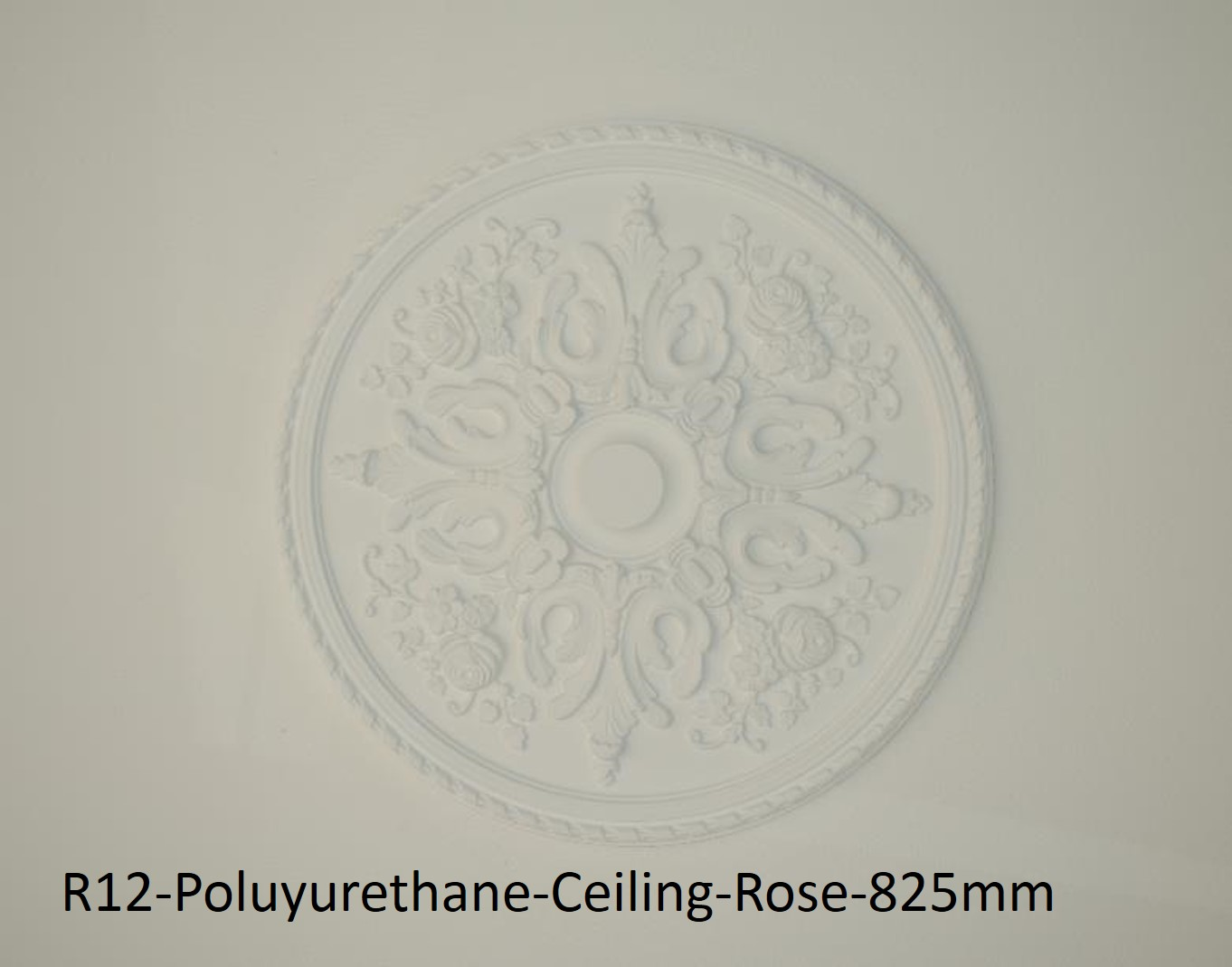 Extreme Mouldings R12-Poluyurethane-Ceiling-Rose-825mm