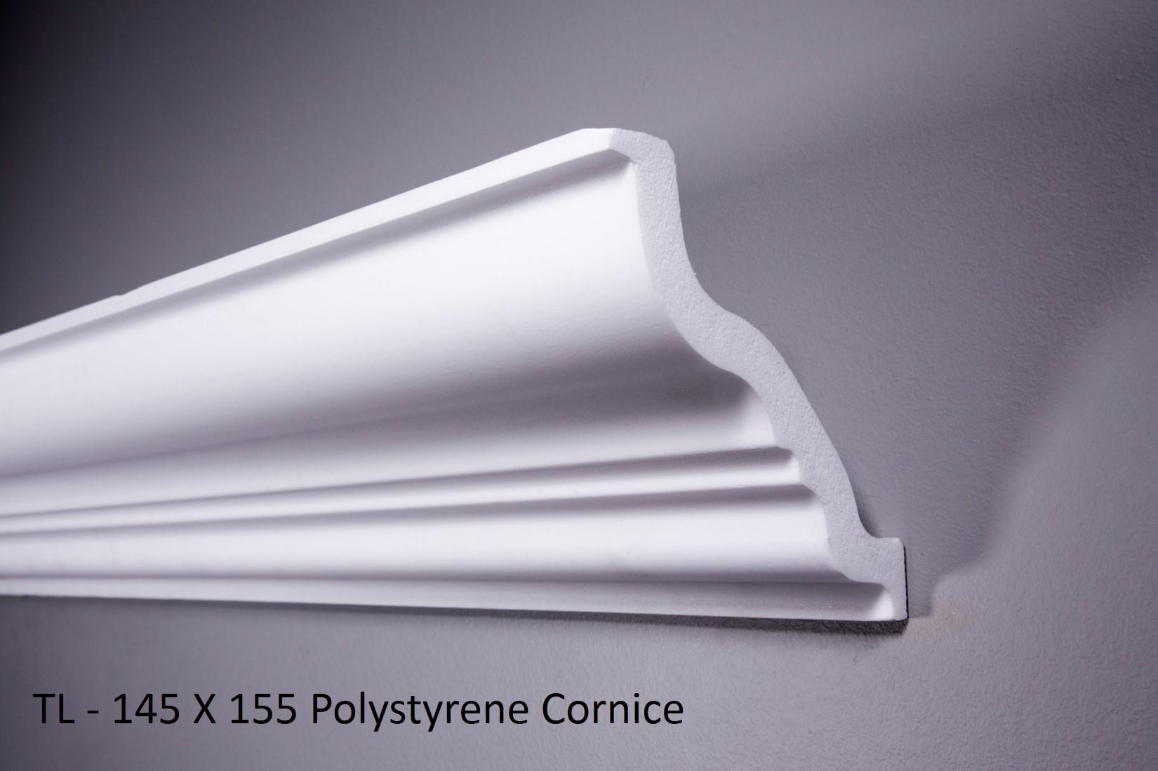 TL - 145 X 155 Polystyrene Cornice